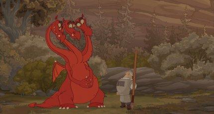 Кадр из мультфильма «Добрыня Никитич и Змей Горыныч»