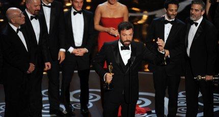 Бен Аффлек на церемонии вручения премии «Оскар – 2013»
