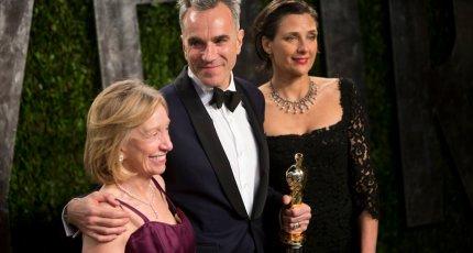 Дэниэл Дэй-Льюис на церемонии вручения премии «Оскар – 2013»
