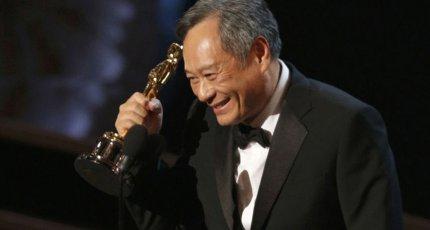 Энг Ли на церемонии вручения премии «Оскар – 2013»