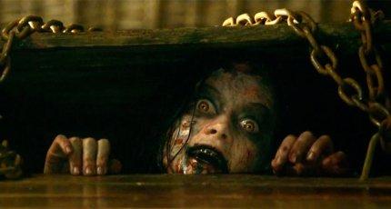 Кадр из фильма «Зловещие мертвецы: Черная книга»