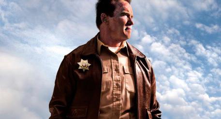 Арнольд Шварценеггер - кадр из фильма «Возвращение героя», 2013 год.