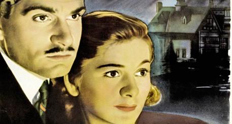 """Кадр из кинофильма """"Ребекка"""", 1940г."""