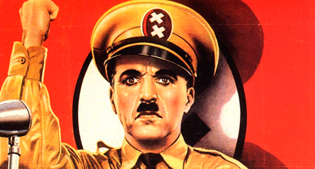 """Кадр из кинофильма """"Великий диктатор"""", 1940г."""