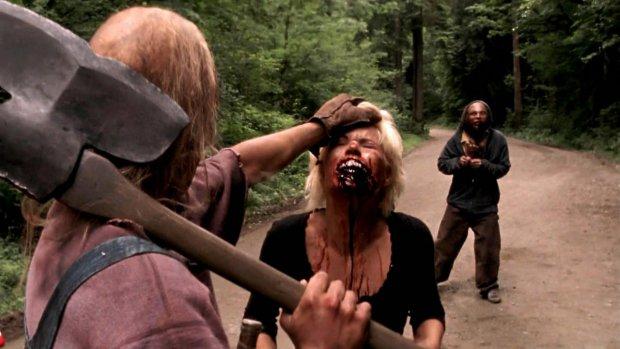 Кадр из фильма «Поворот не туда»